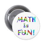 Math is Fun Buttons