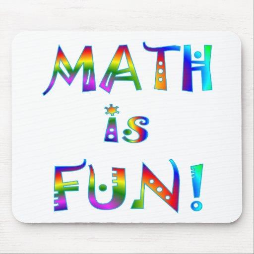 Math is Fun Mouse Pad