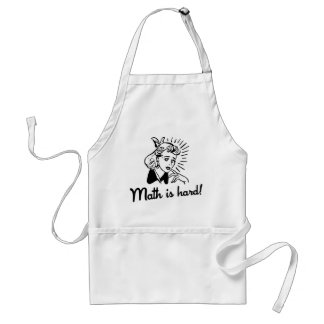 Math is Hard Standard Apron
