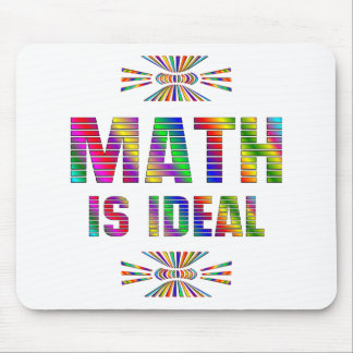 Math is Ideal Mouse Pad