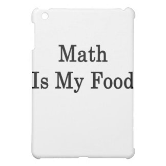 Math Is My Food Cover For The iPad Mini