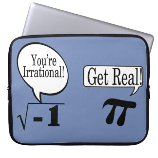 Math is Not always Rational Laptop Sleeves
