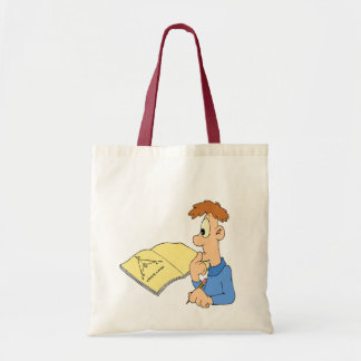 Math is puzzling tote bag