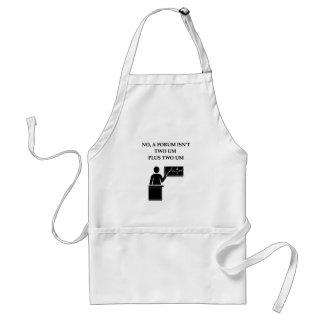 math joke apron