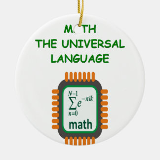 math joke christmas ornament