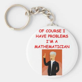 math joke key ring