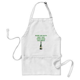 math joke standard apron