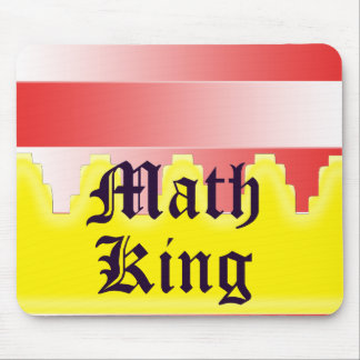 Math King Mouse Pads
