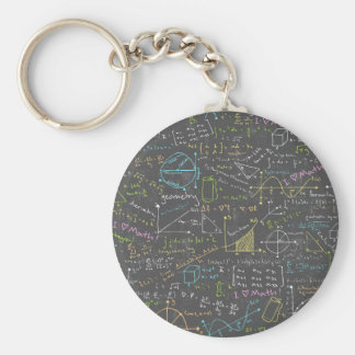 Math Lessons Key Ring