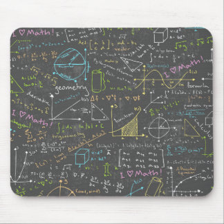 Math Lessons Mouse Mat