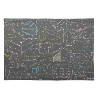 Math Lessons Placemat