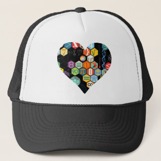 math love trucker hat