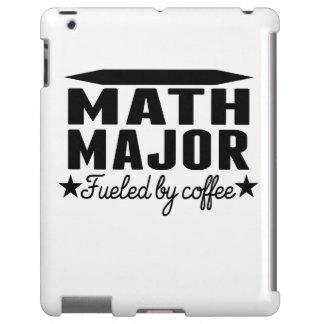 Math Major Fueled By Coffee iPad Case