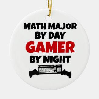 Math Major Gamer Christmas Ornament