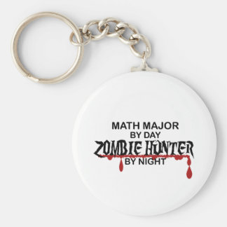 Math Major Zombie Hunter Key Chain