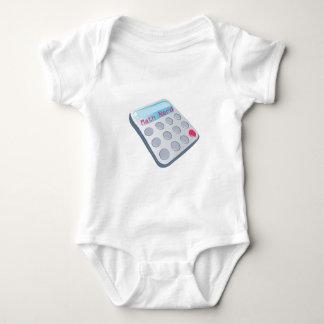 Math Nerd Calculator Baby Bodysuit
