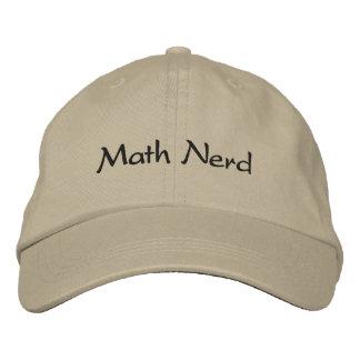 Math Nerd Embroidered Cap