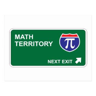 Math Next Exit Post Card