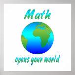 Math Opens Worlds Print