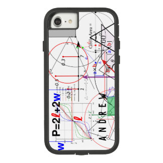 Math Physics Science Equation Personalized Case-Mate Tough Extreme iPhone 8/7 Case