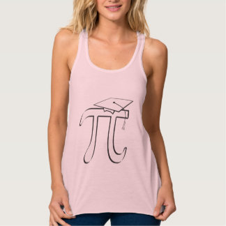 Math Pi Graduate Tank Top