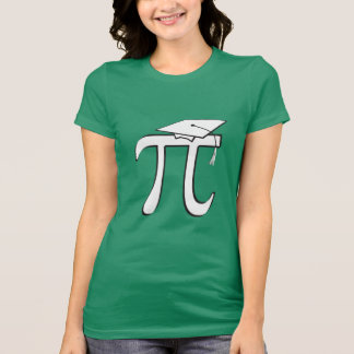 Math Pi Graduate Tee Shirts