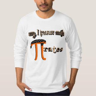 Math PI-rates (shadowed) Shirts