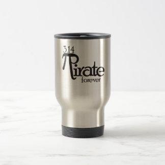 Math Pirate for Pi Day Travel Mug