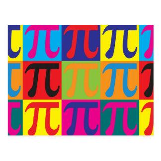 Math Pop Art Postcard