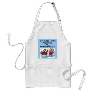 MATH psychology joke Standard Apron