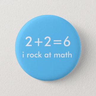 Math Rocks 6 Cm Round Badge