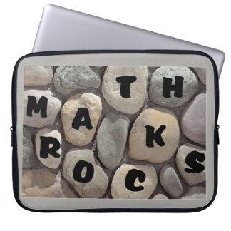 Math Rocks, a Math Teacher's laptop case