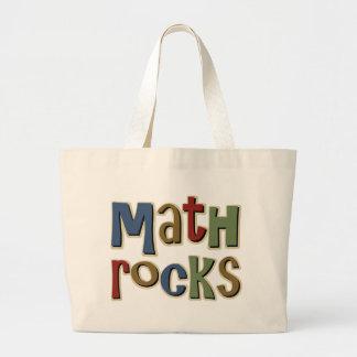 Math Rocks Large Tote Bag
