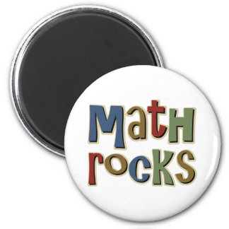 Math Rocks Magnet