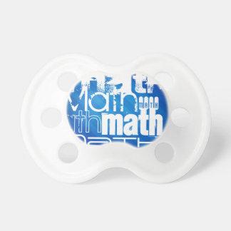 Math; Royal Blue Stripes BooginHead Pacifier