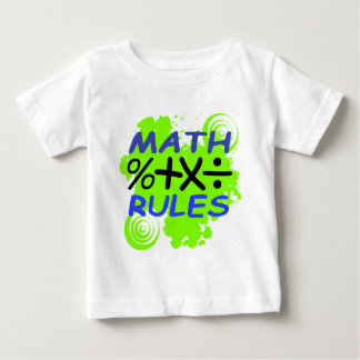 Math Rules Baby T-Shirt