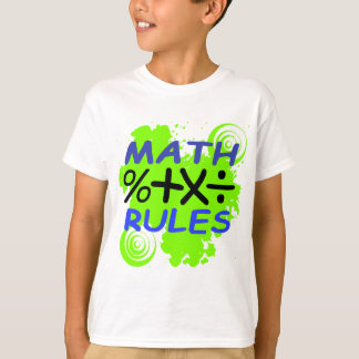 Math Rules T-Shirt