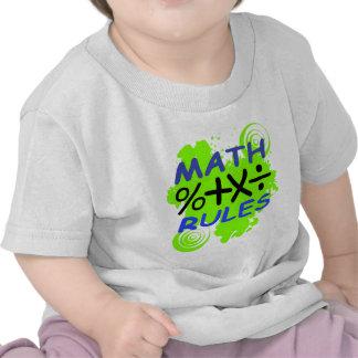 Math Rules Tee Shirts