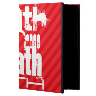 Math; Scarlet Red Stripes Cover For iPad Air