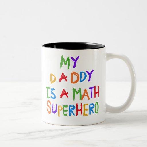 Math Superhero Mugs