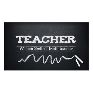 Math Teacher/Any Teacher Pack Of Standard Business Cards