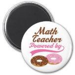 Math Teacher Funny Gift 6 Cm Round Magnet