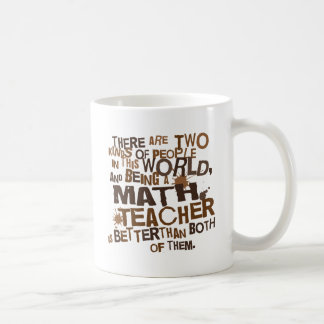 Math Teacher Gift Basic White Mug