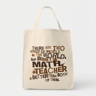 Math Teacher Gift Tote Bag