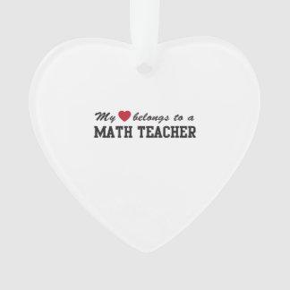 Math Teacher Love
