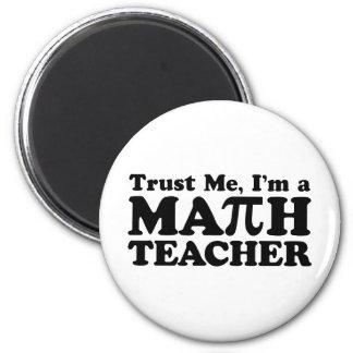 Math Teacher Refrigerator Magnets