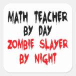 Math Teacher Zombie Slayer