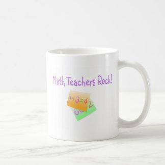 Math Teachers Rock Basic White Mug