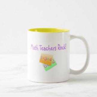 Math Teachers Rock Coffee Mugs