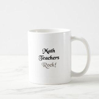 Math Teachers Rock Mugs